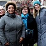 Le conseil d'administration du journal élu en octobre 2016: Jocelyne Aird-Bélanger, Nathalie Cauwet, Louise Duhamel et Sandra Mathieu.