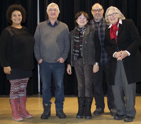 Le conseil d'administration du journal élu en novembre 2018: Nathalie Cauwet (présidente), Raymond Cardinal (trésorier), Louise Duhamel (administratrice), Richard Marleau (administrateur) et Jocelyne Aird-Bélanger (vice-présidente).