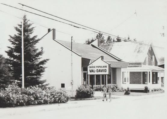 La Caisse populaire de Val-David, année inconnue.
