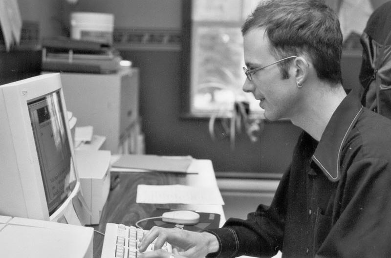 Yohann Saint-Amour, un collaborateur très actif au journal au début des années 2000.