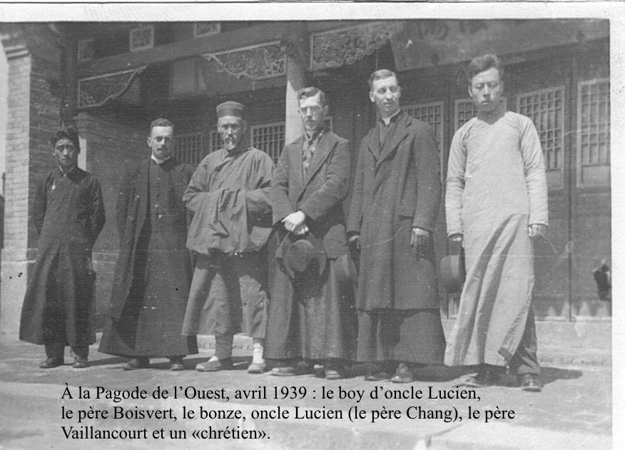 Lucien, en Chine, pendant la guerre sino-japonaise.