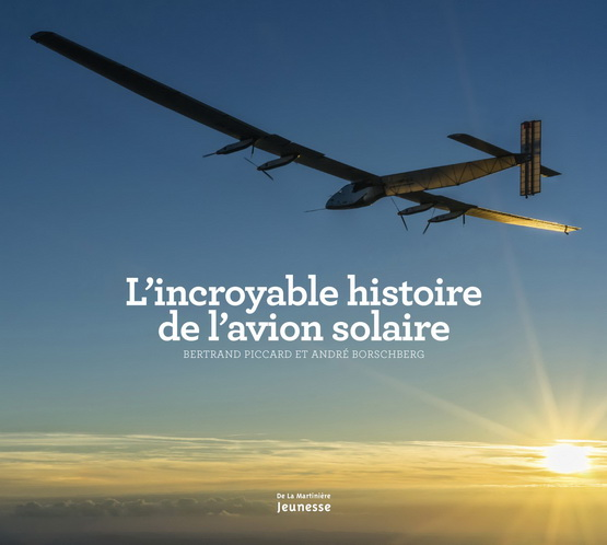 Avion solaire - Couverture - Livre