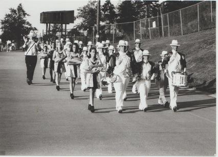 La parade des tambours-majors.