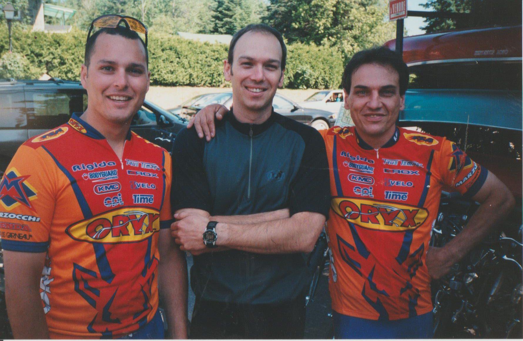 Sébastien Haché, Serge Desrosiers et Guy Charbonneau.