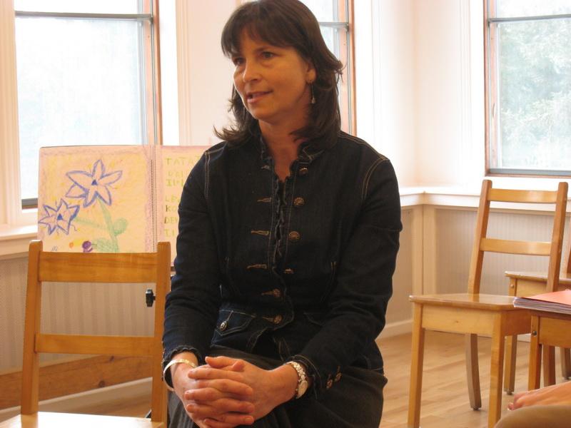 Anne Saint-Aubin, enseignante à l'école Imagine. Photo par Jean-Patrice Desjardins