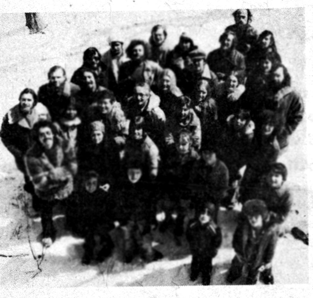 Les Créateurs en 1977 (photo de basse qualité).