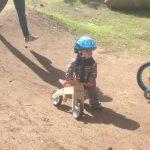 Une piste accessible à tous les cyclistes, de tout âge.