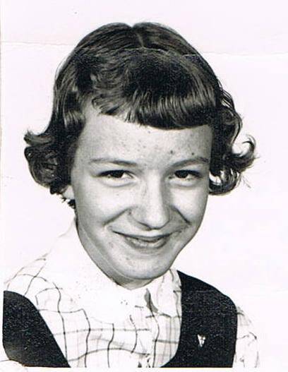 Une photo de l'ex-mairesse de Val-David, Nicole Davidson. Nicole et Michèle allaient à l'école ensemble à Val-David.