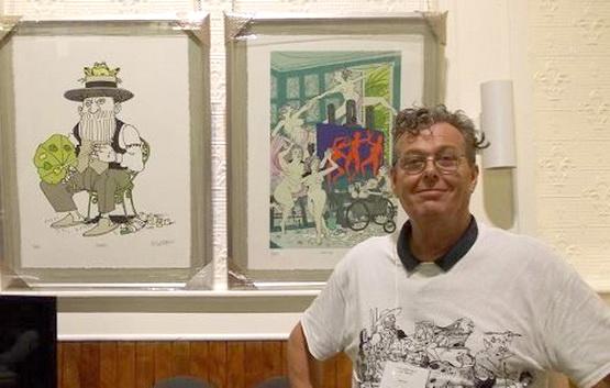 Cédric Loth était l'invité d'honneur du festival 1001 Visages à Val-David en 2017.